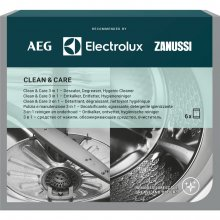 6x Preparat do pralki i zmywarki 3w1 Electrolux CLEAN AND CARE